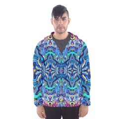 Colorful-2-4 Hooded Windbreaker (men) by ArtworkByPatrick