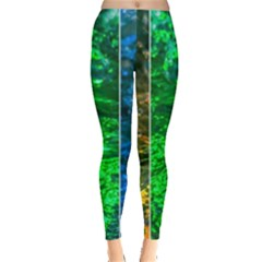 Rainbow Of Water Leggings  by FunnyCow