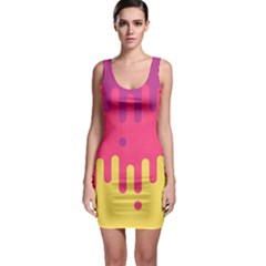 Background Image Bodycon Dress by Nexatart