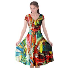 427593030735021 427593017401689 427593014068356 427593257401665 Cap Sleeve Wrap Front Dress by bestdesignintheworld