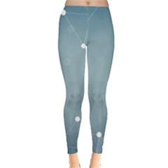 Background Abstract Line Leggings