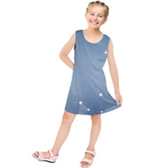 Background Abstract Line Kids  Tunic Dress by Nexatart