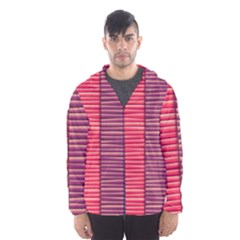 Background Colorful Abstract Hooded Windbreaker (men) by Nexatart
