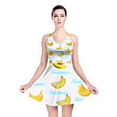 Bananas Reversible Skater Dress by cypryanus
