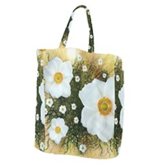 Summer Anemone Sylvestris Giant Grocery Tote by Nexatart