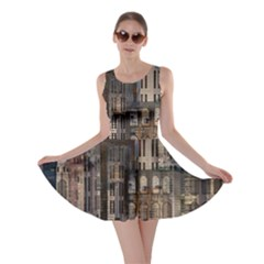 Architecture City Home Window Skater Dress