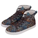 Collection: Art Air Elements<br>Print Design: A Cry in the Canyon<br>Style: Men s Hi-Top Sneakers