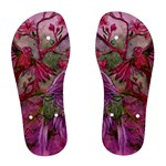 Collection: Acquerello<br>Print Design: Scents of Spring - Rosa<br>Style: Women s Flip Flops
