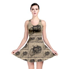 Indian Motorcycle 1 Reversible Skater Dress