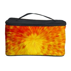 Abstract Explosion Blow Up Circle Cosmetic Storage Case by Nexatart