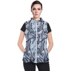 Pattern Abstract Desktop Fabric Women s Puffer Vest by Nexatart