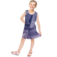 Abstract Background Abstract Minimal Kids  Tunic Dress by Nexatart