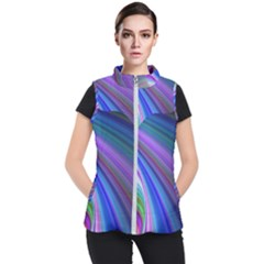 Background Abstract Curves Women s Puffer Vest by Nexatart