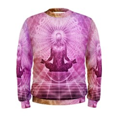 Meditation Spiritual Yoga Men s Sweatshirt by Nexatart