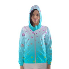 G33kchiq Hooded Windbreaker (women) by G33kChiq