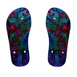 Collection: Acquerello<br>Print Design: Scents of Spring<br>Style: Children s Flip Flops