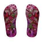 Collection: Acquerello<br>Print Design: Scents of Spring - Rosa<br>Style: Children s Flip Flops