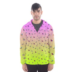 Sprinkles Hooded Windbreaker (men) by G33kChiq