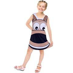 Doh Puppy Happy Pet Hound Animal Kids  Tunic Dress
