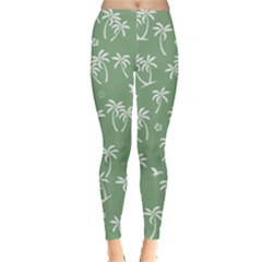 Tropical Pattern Leggings  by Valentinaart