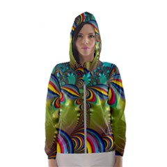Amazing Fractal 5182 Hooded Windbreaker (women)