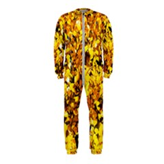 Birch Tree Yellow Leaves Onepiece Jumpsuit (kids) by FunnyCow