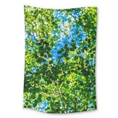 Forest   Strain Towards The Light Large Tapestry by FunnyCow