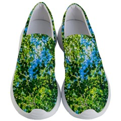 Forest   Strain Towards The Light Women s Lightweight Slip Ons by FunnyCow
