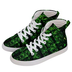 Emerald Forest Men s Hi Top Skate Sneakers by FunnyCow