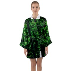 Emerald Forest Long Sleeve Kimono Robe by FunnyCow
