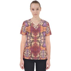 Women s V Neck Scrub Top by GhostGear