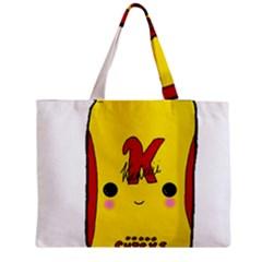 Kawaii Cute Tennants Lager Can Zipper Medium Tote Bag