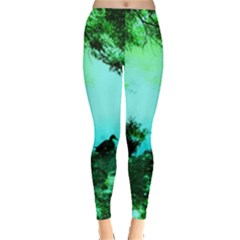 Hot Day In Dallas 36 Leggings  by bestdesignintheworld
