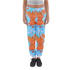 Coconut Palm Trees Tropical Dawn Women s Jogger Sweatpants by CrypticFragmentsColors
