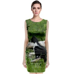 Farm Cat Classic Sleeveless Midi Dress by IIPhotographyAndDesigns