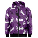 PURPLE Men s Zipper Hoodie