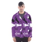 PURPLE Hooded Windbreaker (Men)