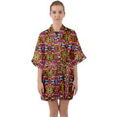8 Quarter Sleeve Kimono Robe