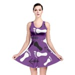 PURPLE Reversible Skater Dress