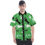 GREEN Men s Short Sleeve Shirt