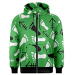 GREEN Men s Zipper Hoodie