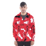 RED SWATCH#2 Hooded Windbreaker (Men)