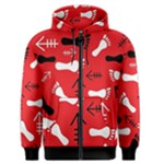 RED SWATCH#2 Men s Zipper Hoodie