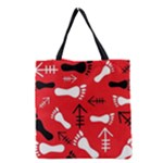 RED SWATCH#2 Grocery Tote Bag