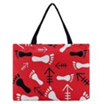 RED SWATCH#2 Zipper Medium Tote Bag