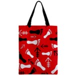 RED SWATCH#2 Zipper Classic Tote Bag