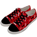 RED Women s Low Top Canvas Sneakers
