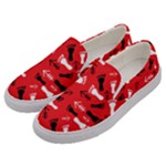 RED Men s Canvas Slip Ons