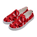 RED Women s Canvas Slip Ons