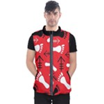 RED SWATCH#2 Men s Puffer Vest